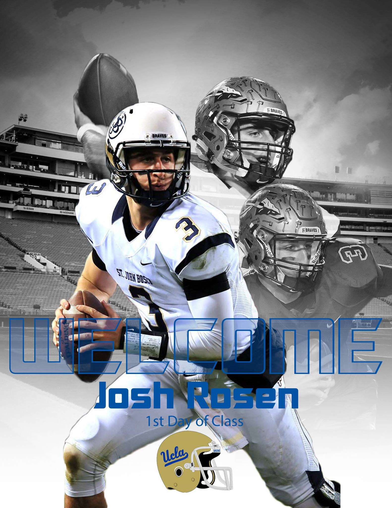 Rosen may have more hype than any UCLA football recruit in history.