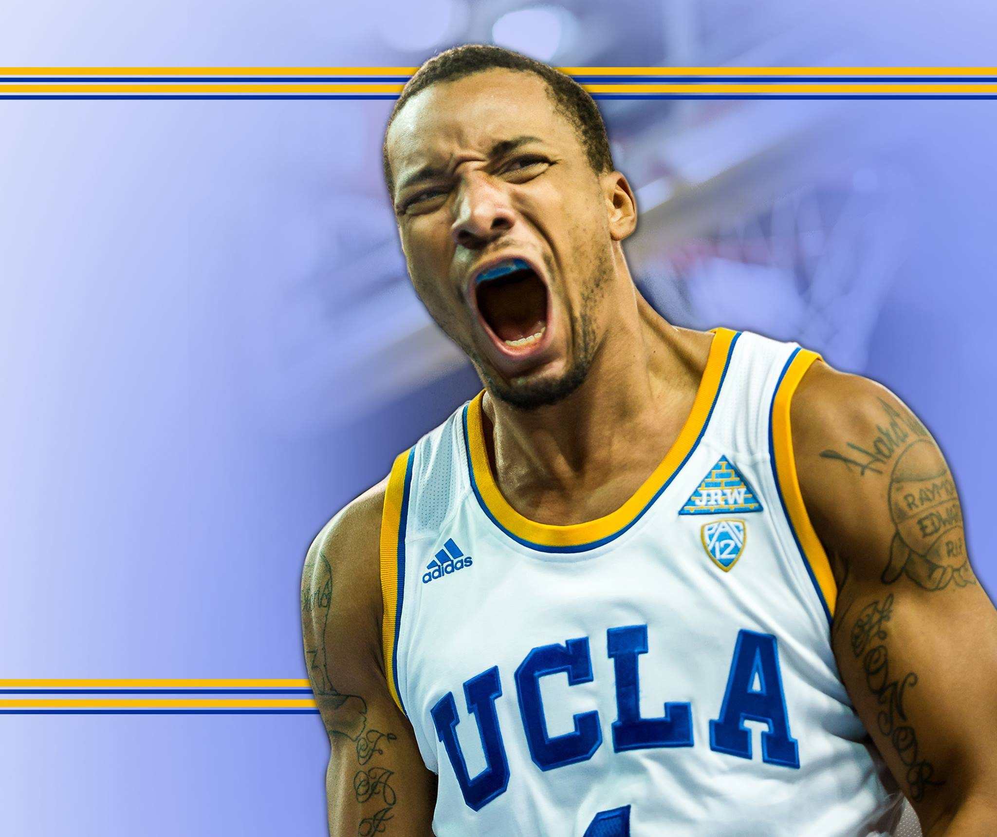 Powell fought through a hip injury to sink the winning points for UCLA.