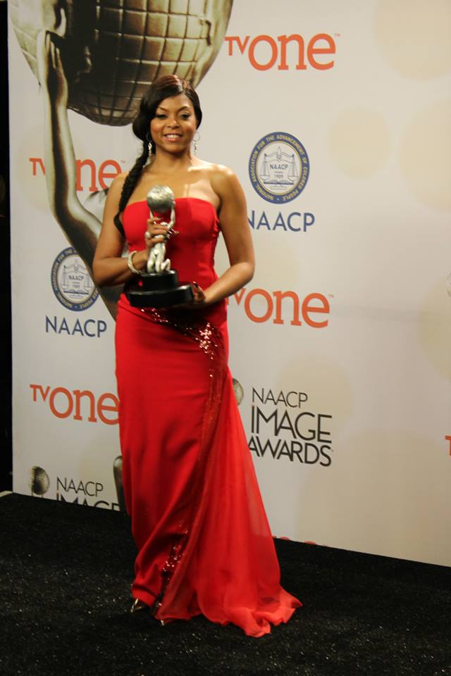 "Taraji P. Henson won the award for Outstanding Actress in a Motion Picture for ""No Good Deed."""