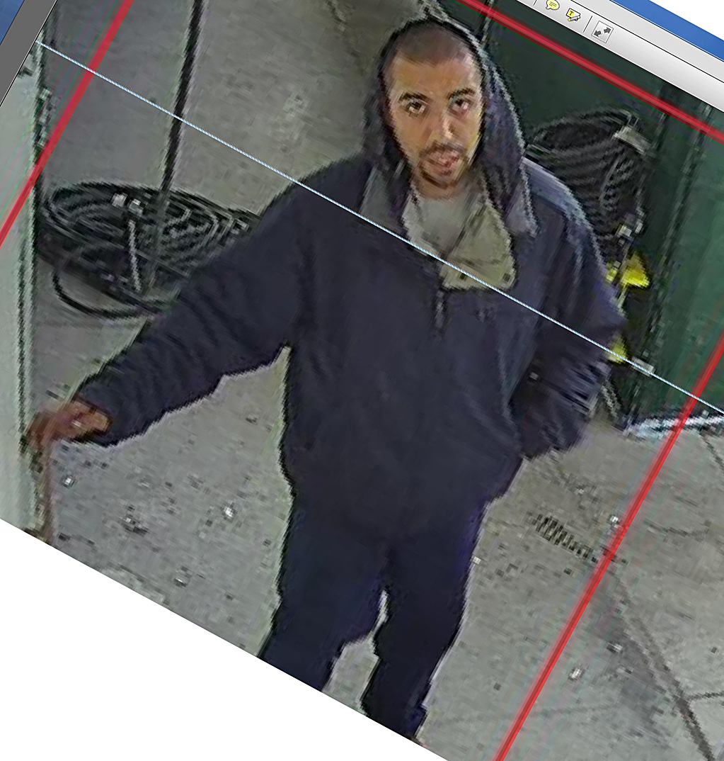 Image of the suspect that the BHPD is looking for.