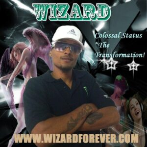 """Danny Lee Thomas, 33, was arrested for attempted murder.  His stage name is """"Wizard""""."""
