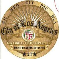 "Officers with LAPD's West Traffic Division first stopped the driver for committing ""several traffic violations."""