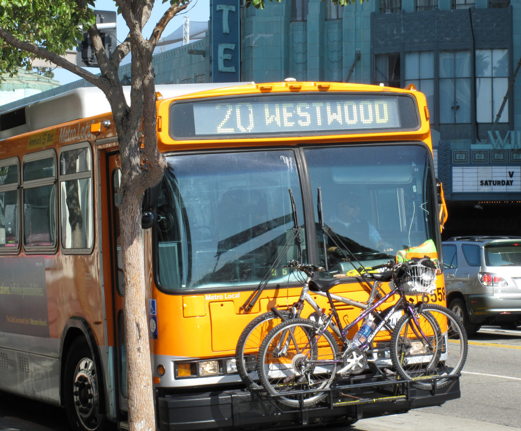 Metro plans to add bike racks on 1,000 of its 2,000 buses by 2018.