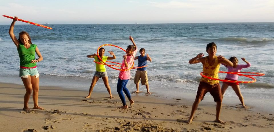 KidTribe, hula hoop fitness group, will put on a two-hour concert at Tongva Park Saturday May 23.