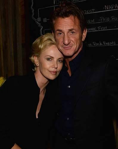 Sean Penn and Chalize Theron.