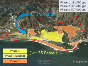 Some Malibu residents object to the location of the sewer approved by the California Coastal Commission. Image courtesy of the City of Malibu.
