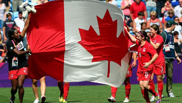 Adults and Children can see the Canadian Women's National/Olympic Soccer Team practice at Airport Park on May 10.