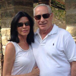 Barbara Lowy and her husband.