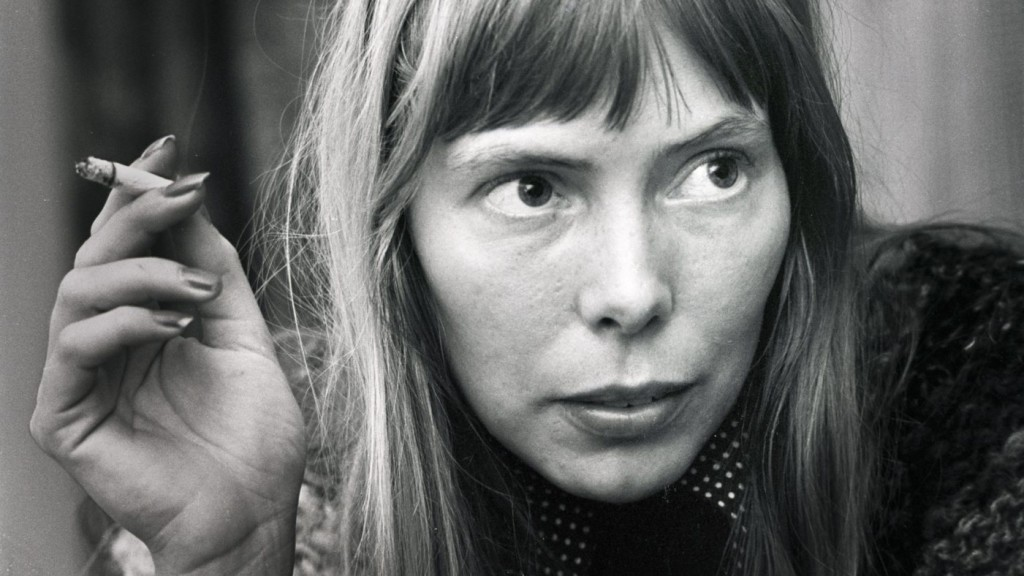Joni Mitchell is a legendary singer-songwriter