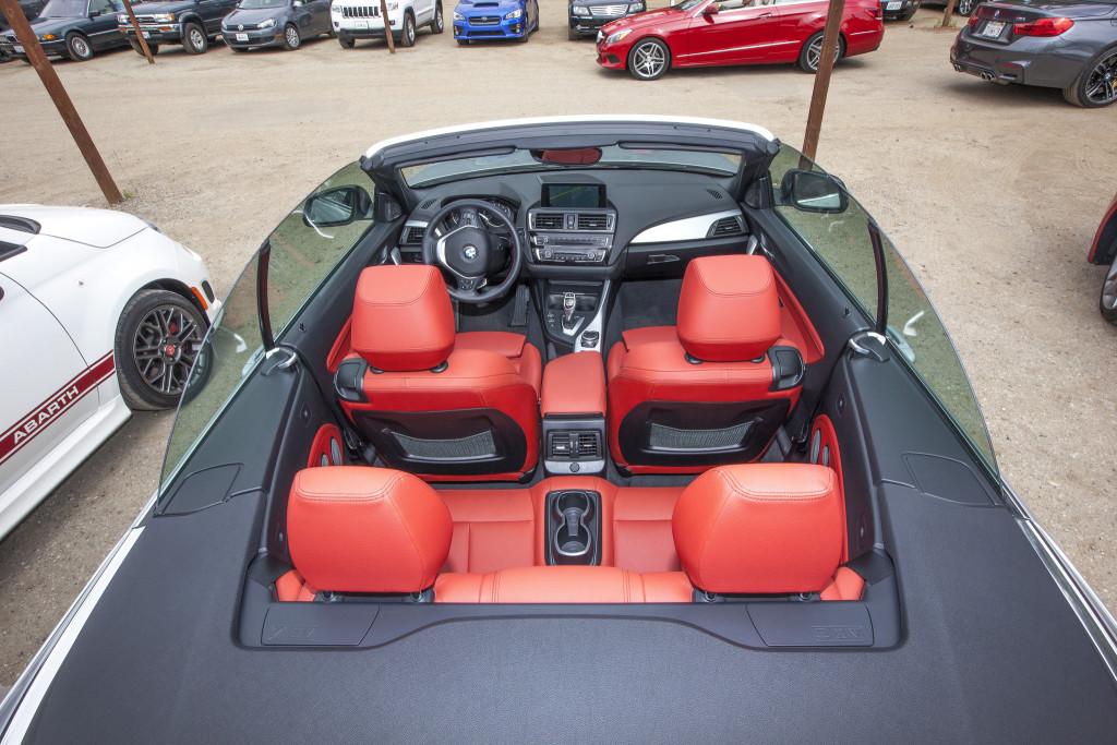 M4 interior, courtesy of Myles Regan