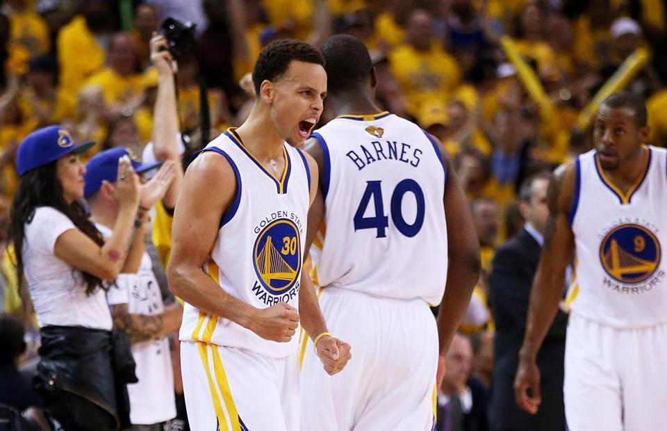 Warriors Win Game 1 In OT