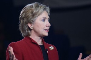 Presidential candidate Hilary Clinton will hold 3 area fundraisers the following day.