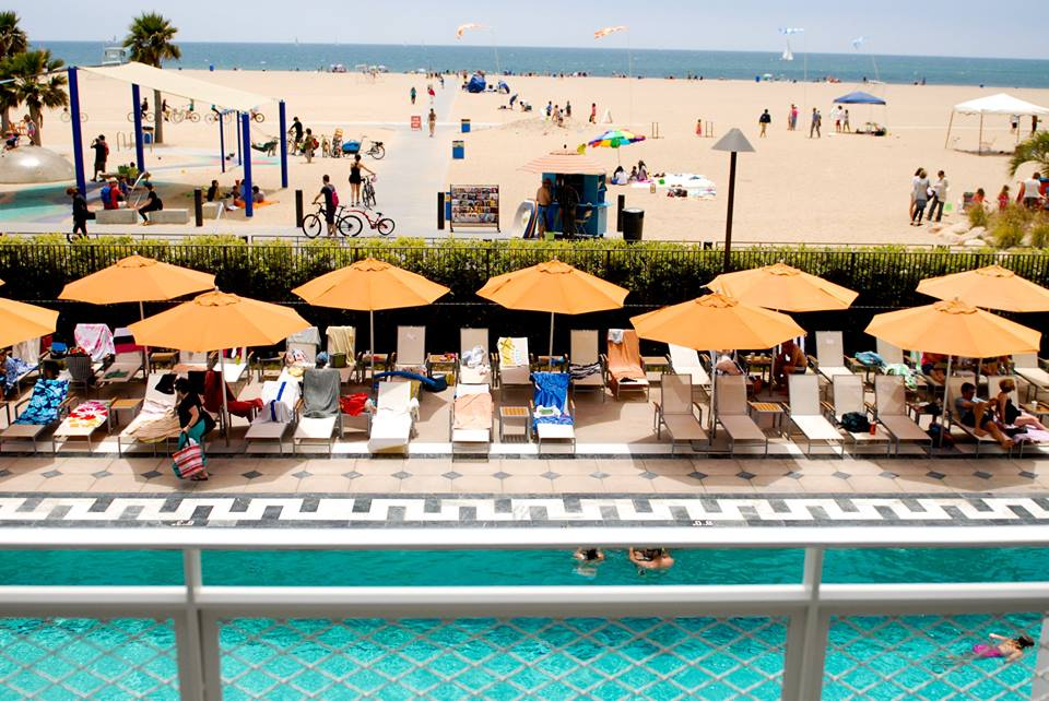 Every second Friday of the month, the Annenberg Community Beach House will host an adults-only Sunset Swim