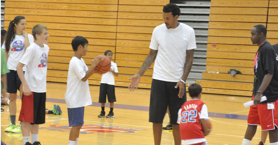 From August 7-9, Matt Barnes will host a basketball summer camp for children ages 6-14