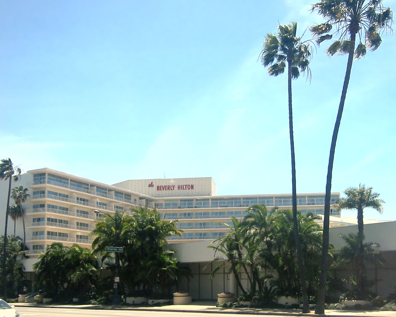 The Wanda Group is proposing to add a luxury hotel to their planned $1 billion condominium development next door to the Beverly Hilton Hotel