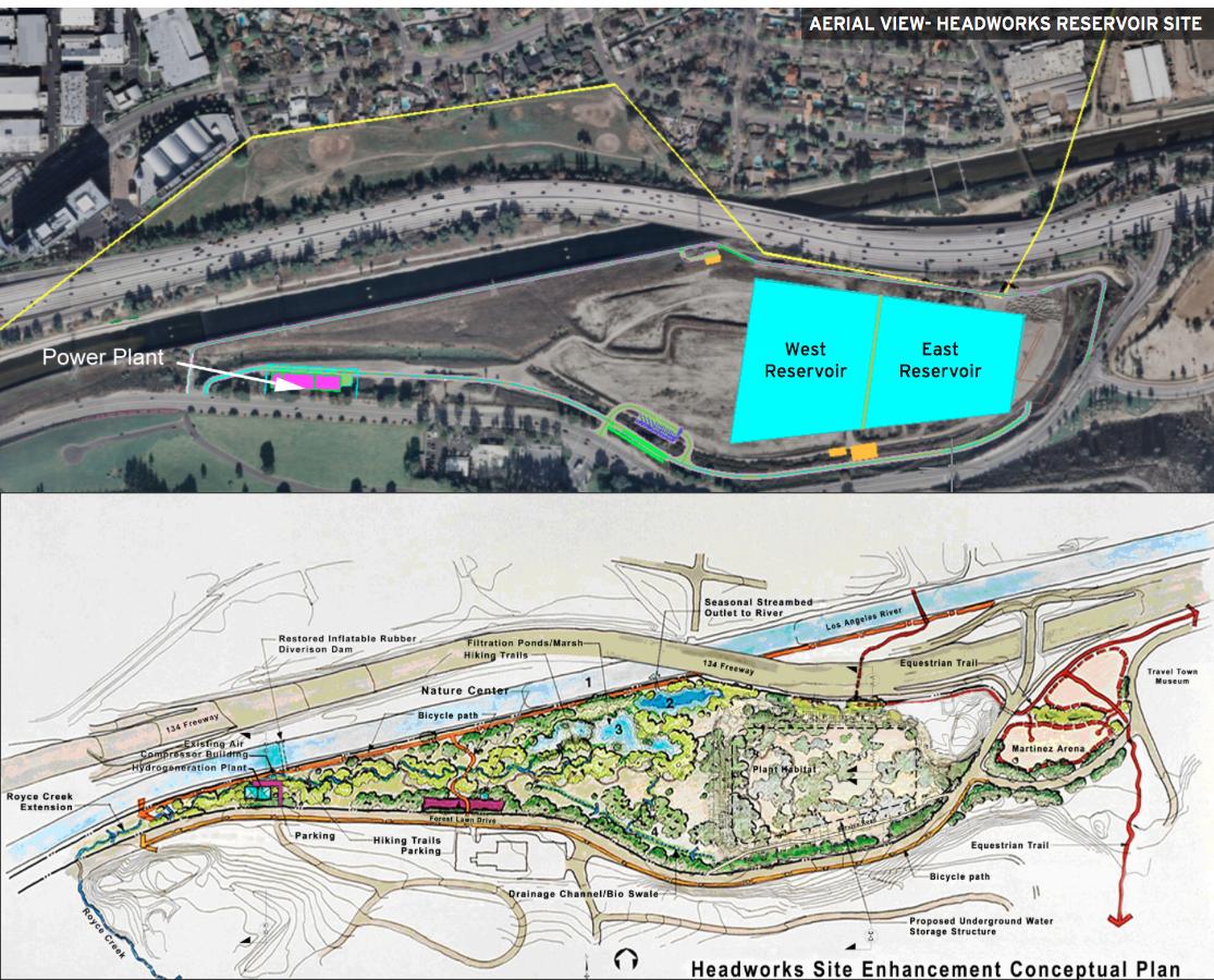 Construction on Headworks Reservoir East completed; construction on Headworks Reservoir West to begin