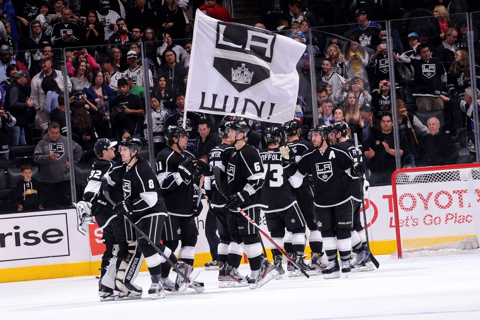 This is a picture of Sweet Los Angeles Kings Printable Schedule