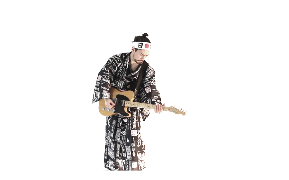 Steve Onotera, also known as samuraiguitarist, covered the theme song from popular 90s sitcom