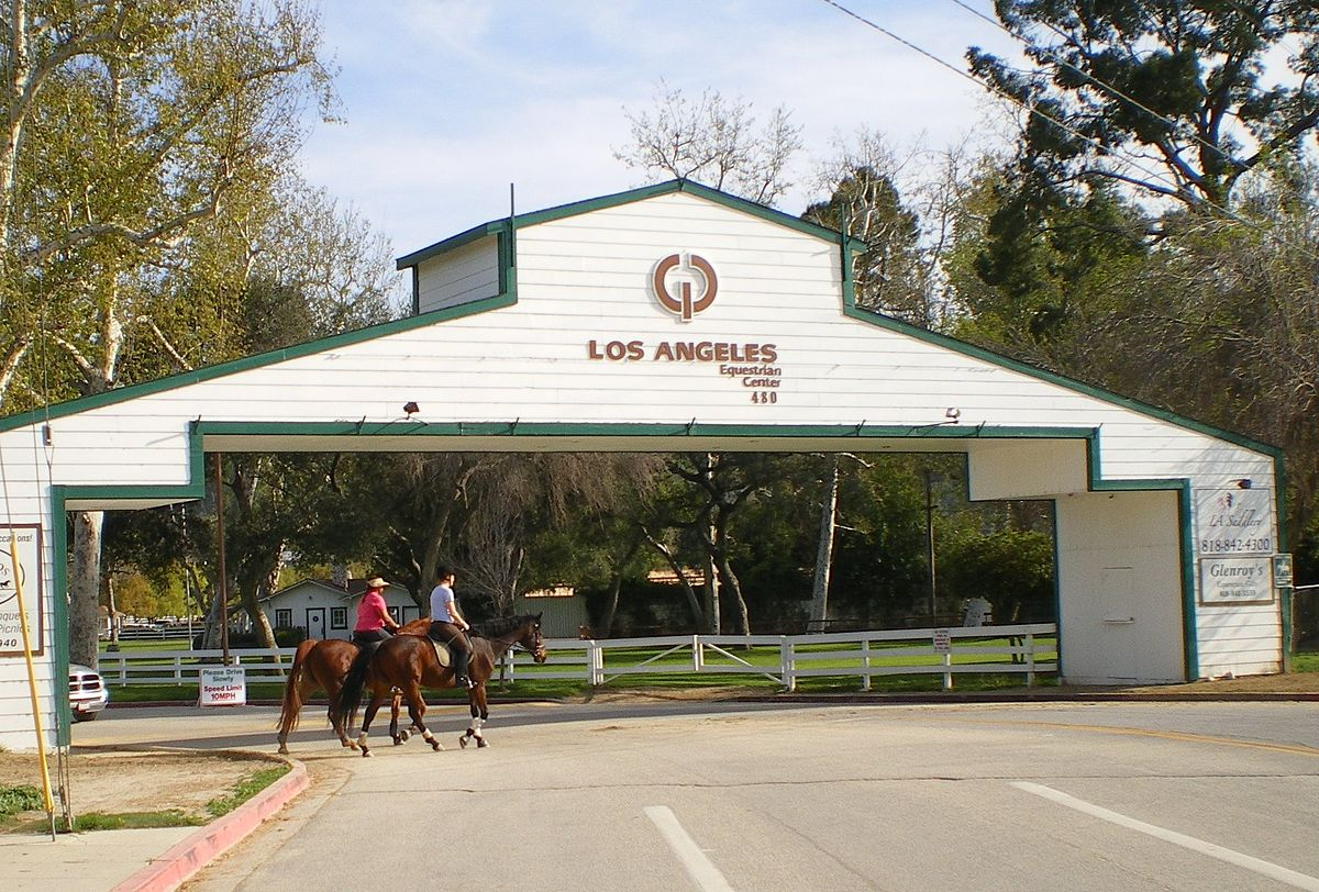 The Los Angeles Equestrian Center.