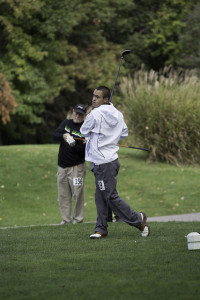 A golfer from the 2014 Special Olympics USA Games.