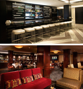 Beverly Hills Marriot Bar and Lounge