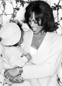 Whitney Houston and Baby Bobbi Kristina
