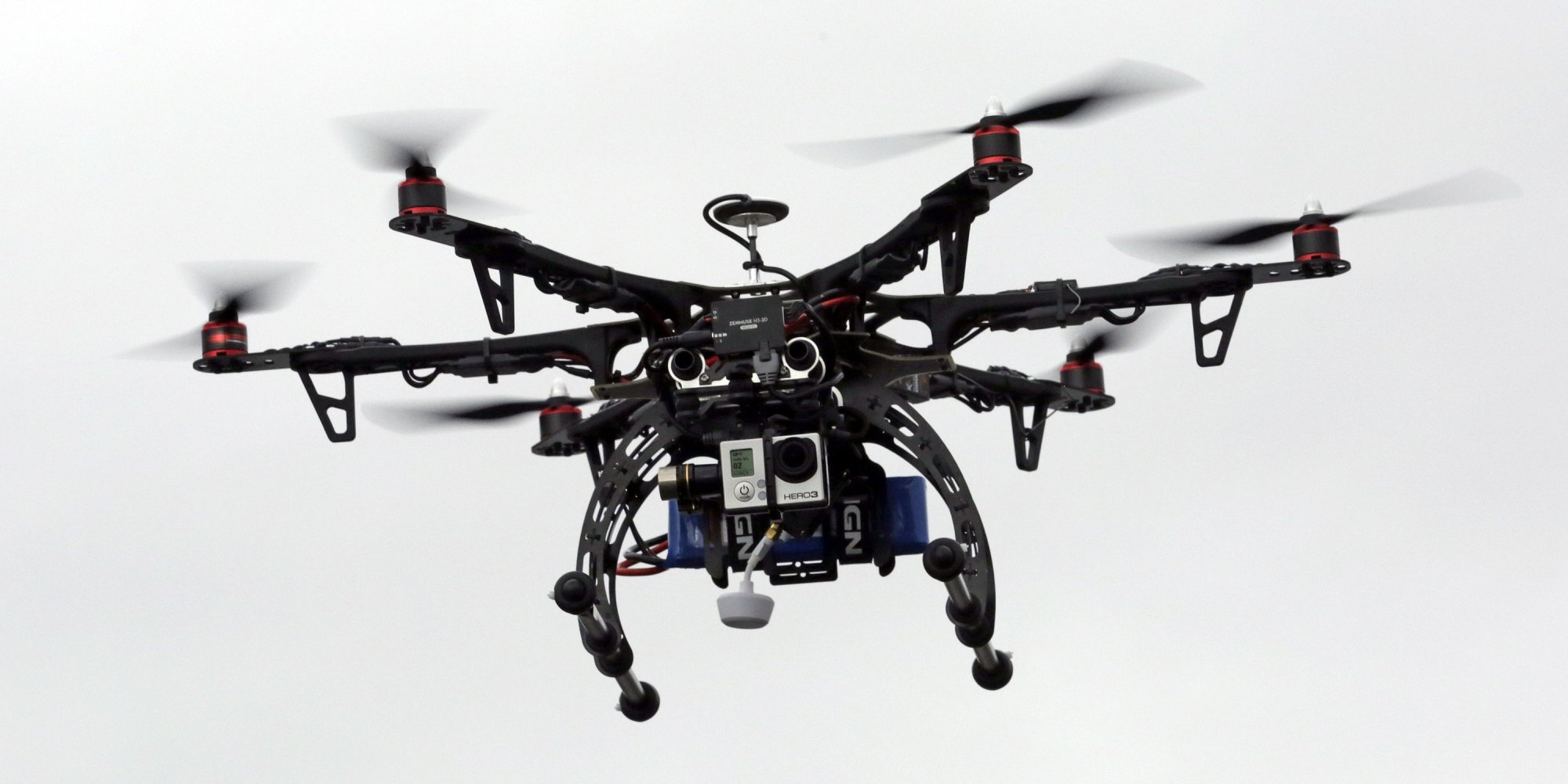 Drones. Image courtesy thedroneinfo.com