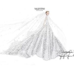Nicky Hilton's Celebrity Wedding Gown