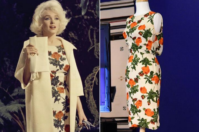 The last dress Marilyn Monroe ever wore in a film - Something's Gotta Give (1962) - was estimated to sell for between $300K-$500K.