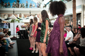 Fashion's Night Out at Westfield Topanga Canyon Mall.