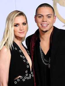 Evan Ross and Ashlee Simpson are expecting their first child later this year.