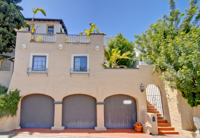 The multi-level house is being listed at $1.3 million by the Twilight actress.