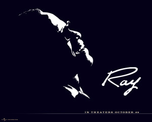 "White wrote the 2004 screenplay for ""Ray"""