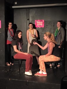 Chicago Ladies Improv Team performing at TWSS: Ladies Night earlier this year.