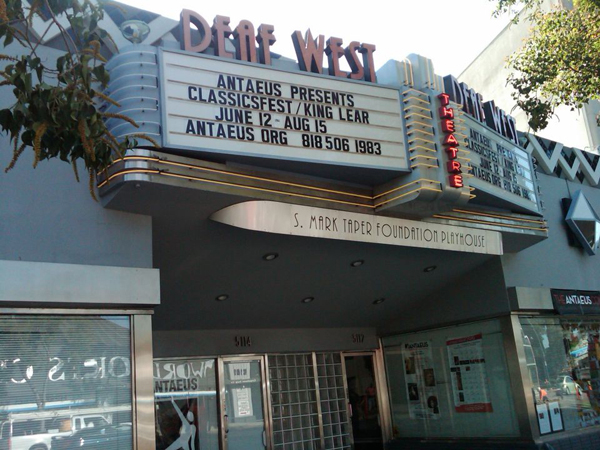 The Deaf West Theater on Lankershim Boulevard is a staple of the NoHo Arts Community.