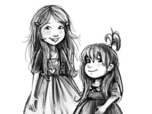 """""""Shay & Ivy: Beyond the Kingdom"""" is inspired by real-life experiences of Mcfeely's two daughters, Shay and Ivy Mansfield."""