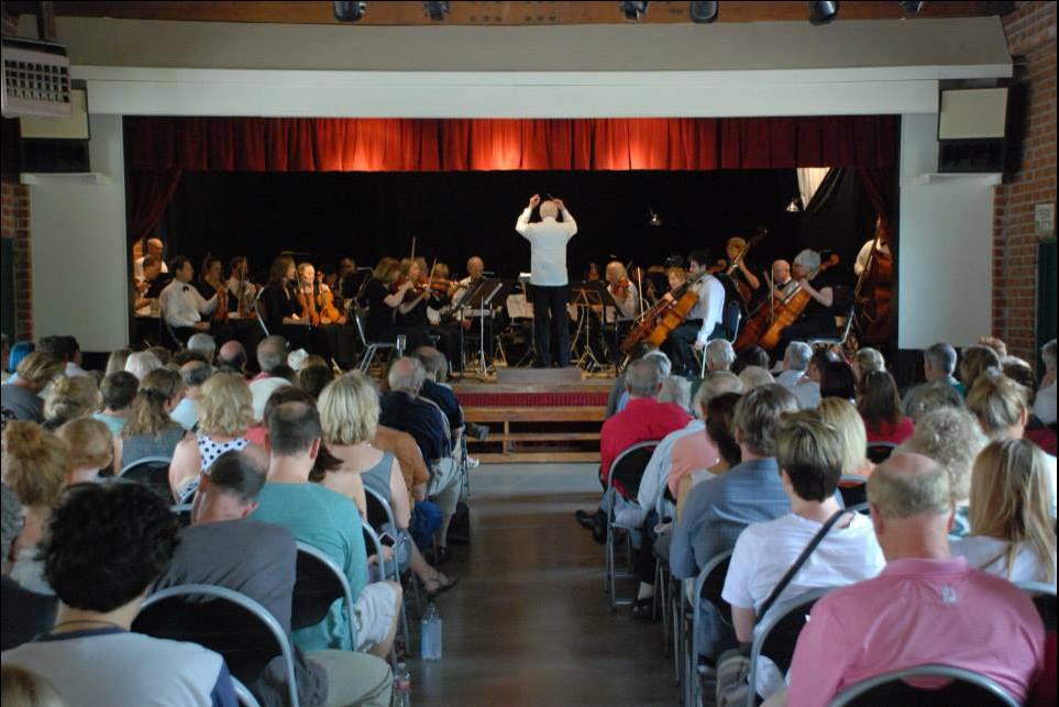 The Topanga Symphony  performing at Topanga Community Club
