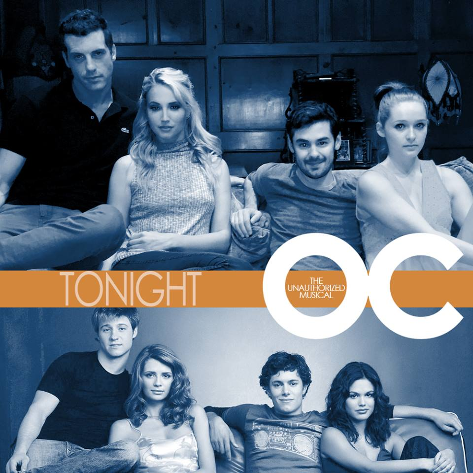 The cast of The Unauthorized O.C. depicted above the original characters