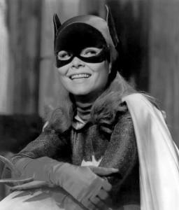Yvonne Craig as Batgirl in 1967.