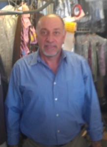 Gohar Afifi, also known as George A. Photo from Celebrity Cleaners on Yelp.