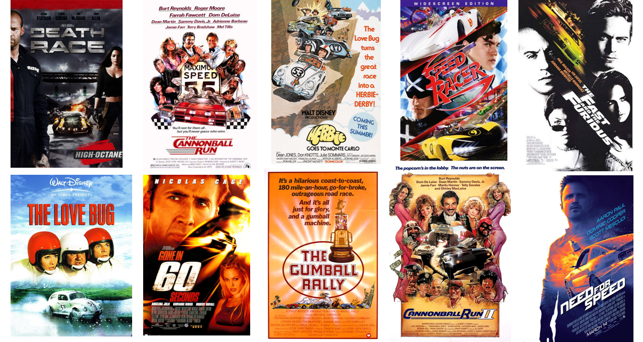 Movies for Car Lovers
