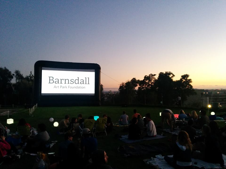 Barnsdall Park's Outdoor Movie Nights.