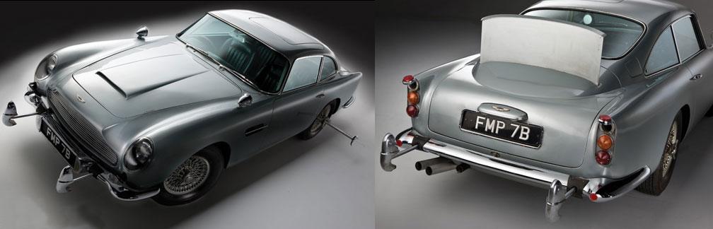 James Bond OO7's Aston Martin DB5