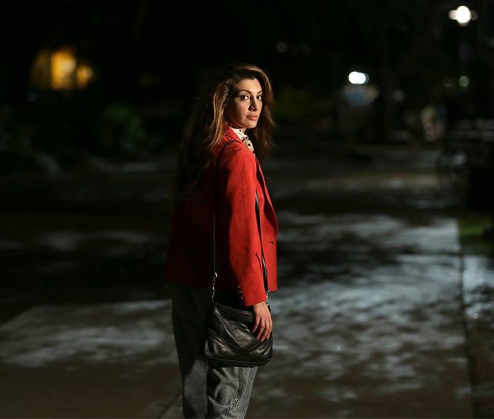 "Gigi (Nasim Pedrad) is up to no good on ""Scream Queens."""