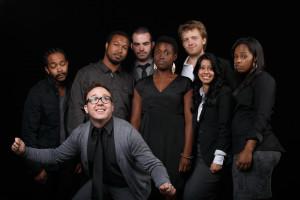 The cast of Issa Rae's third web series, 'Awkward Black Girl'.