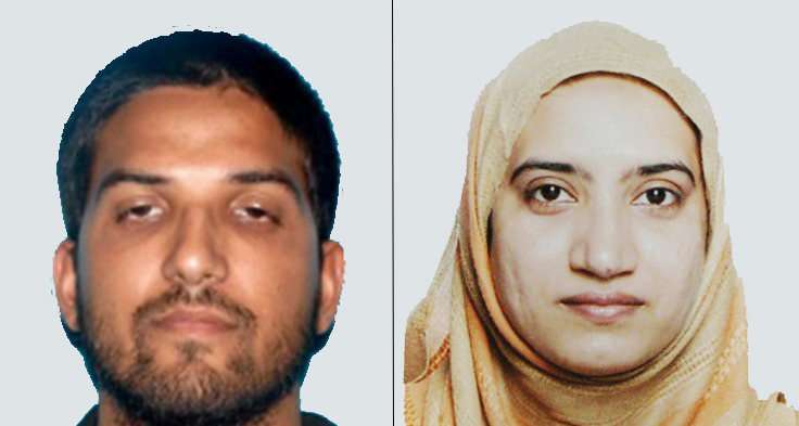 Two suspects involved in the San Bernardino shooting have been identified as Syed Farook, 28, and Tashfeen Melik, 27.