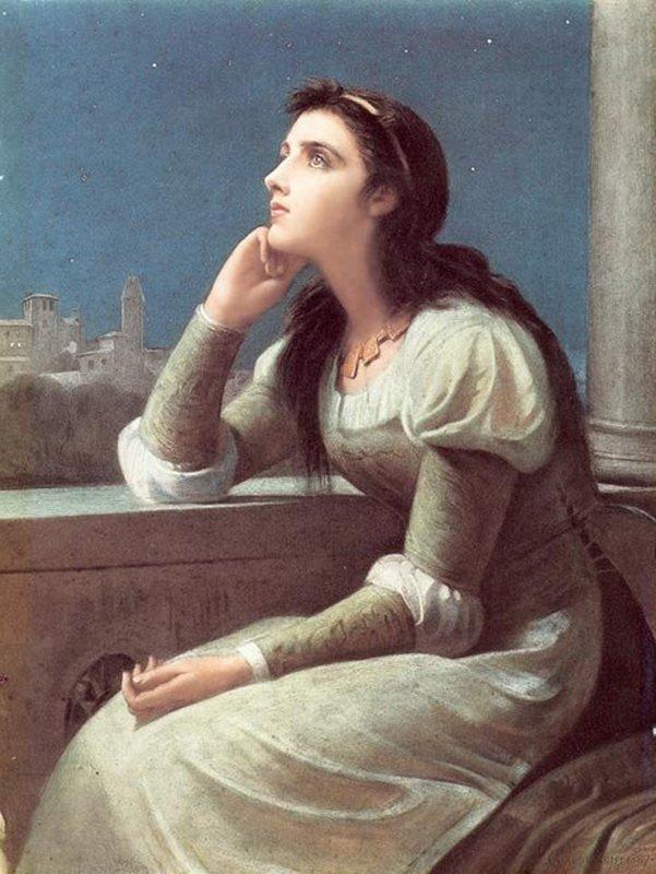 Calderon Girl in Solitude courtesy of Wikimedia Commons