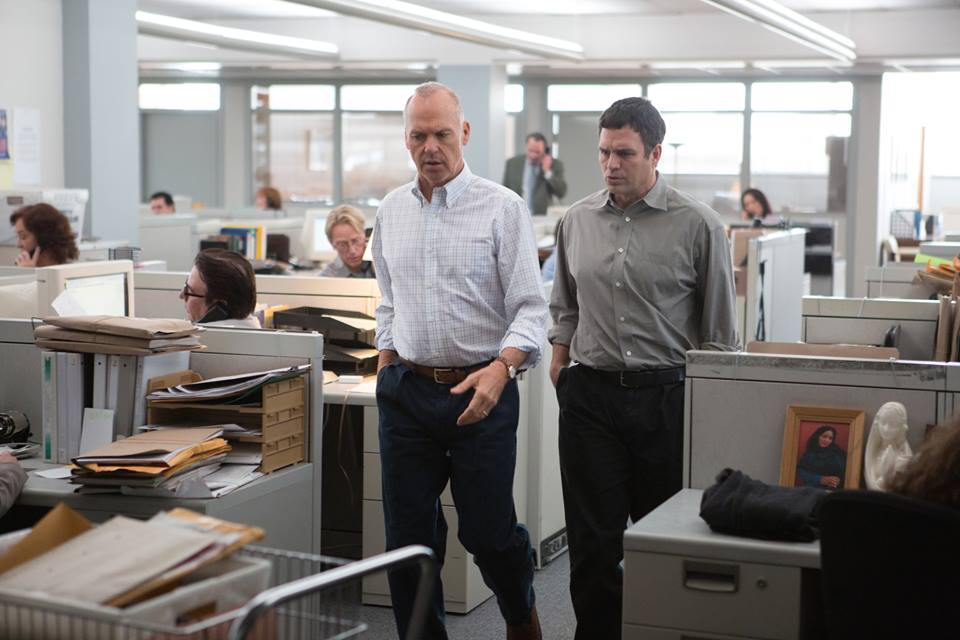 """Spotlight"" won the prize for Outstanding Cast in a Motion Picture at the SAG awards."