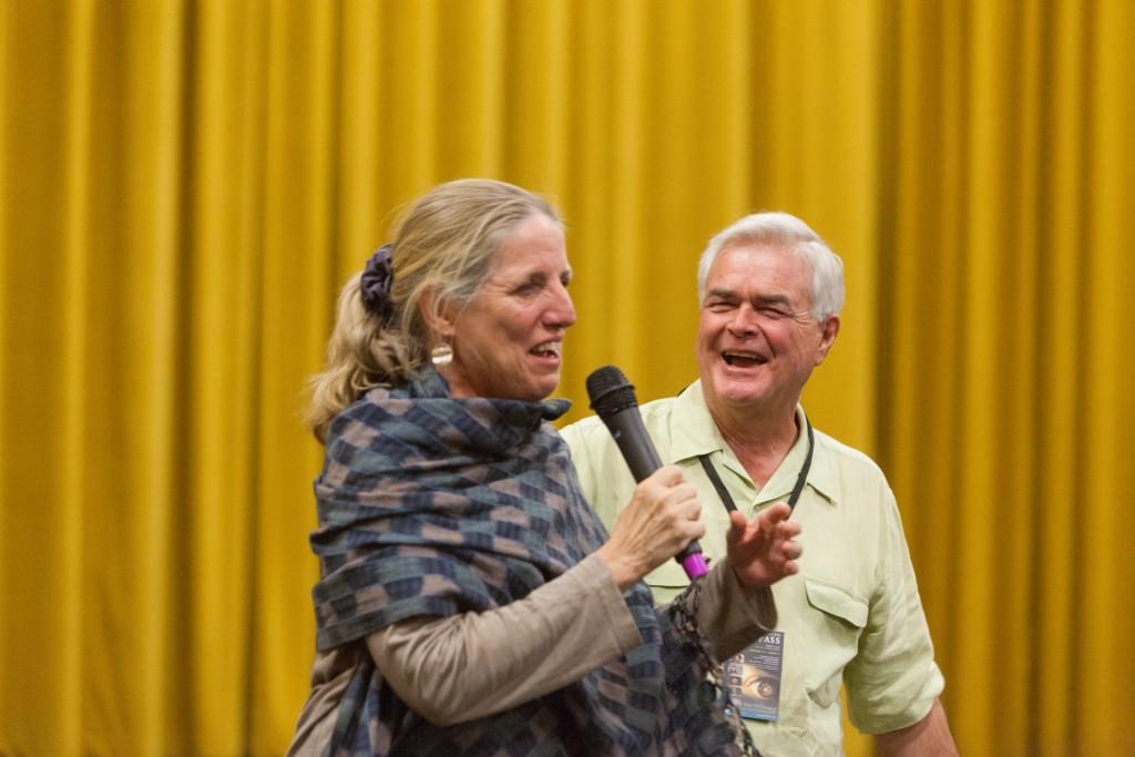 Guest Programmer Elizabeth Weatherford & Executive Director Michael Hammond Ph.D.
