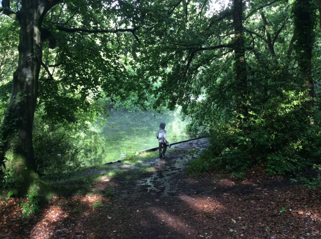 Chislehurst Pond.